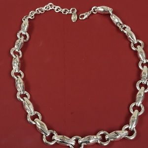 Erwin Pearl Vintage Signature  Link Necklace